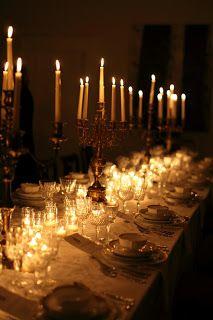 an evening dinner