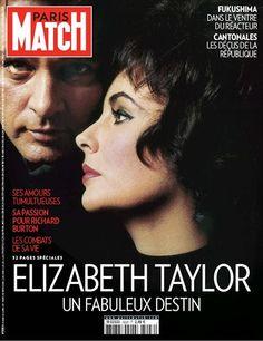 Elisabeth Taylor, un fabuleux destin à découvrir en cliquant sur son visage.