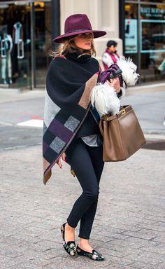 Olivia Palermo - Los sombreros del otoño - TELVA.com
