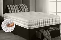 Wowcher | Deal - The Sleep People Ltd - Midnight Dreams/£129 (from Midnight Dreams) for a single pocket sprung mattress, £169 for a small double or double mattress, £199 for a king size mattress - save up to 77%