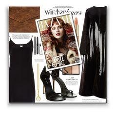 """Winter Layers: Slip Dress"" by fernandamaverick ❤ liked on Polyvore featuring Raey, Emilia Wickstead, Bobbi Brown Cosmetics, Prism Design, Dolce&Gabbana, women's clothing, women's fashion, women, female and woman"