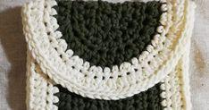 かぎ針編みの往復編みで簡単に編める初心者向けミニサイズのポーチの編み方を編み図と作り方の写真と共に紹介しているページです。中長編みが編めれば編むことができます。 #かぎ針編み ポーチ 編み図 Blog, Accessories, Blogging