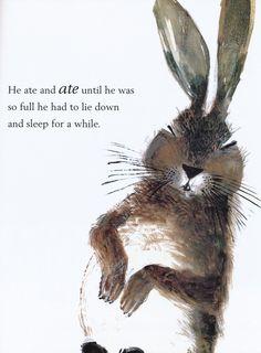 I feel ya, Peter Rabbit...
