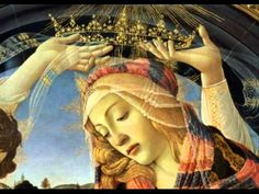 Hail Holy Queen, Mother of mercy. Hail our life, our sweetness, and our hope. (detail of 'The Madonna of the Magnificat', Sandro Botticelli) Italian Renaissance, Renaissance Art, Florence Renaissance, Medieval Art, Michelangelo, Galerie Des Offices, Hail Holy Queen, La Madone, Queen Of Heaven