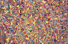 Alighiero Boetti,Tutto, 1989  Collezione privata, Roma  Courtesy Fondazione Boetti, Roma  © Alighiero Boetti by SIAE 2002