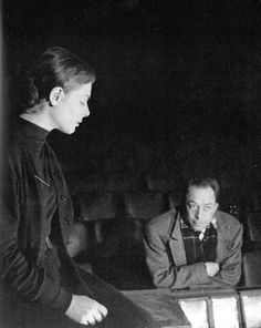 Catherine Sellers et Albert Camus
