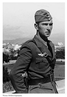 Werner Molders in Spain during Guerra Civil Espanola