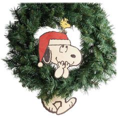 Snoopy and Woodstock Wreath Dangler
