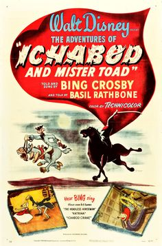 """MySF Short Short Reviews goes back in time to this double feature from Disney: """"The Adventures of Ichabod and Mister Toad""""."""
