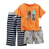 Carter's® 3-pc. Surf Dogs Pajama Set - Baby Boys 12m-24m - Carter's® 3-pc. Surf Dogs Pajama Set - Baby Boys 12m-24m