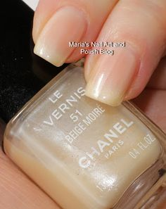 Chanel - Beige Moire. A very soft shade.