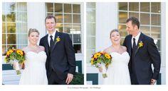 Photo by Tracy Rodriguez Photography (www.tracyrodriguezphotography.com) Keywords: New Hampshire Wedding, Brookstone Park, Fall Wedding, Expecting Wedding, Sunflowers, Outdoor Wedding, DIY Wedding, Derry NH Wedding