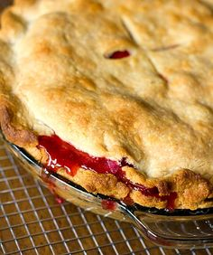 Strawberry-Rhubarb Pie | browneyedbaker.com