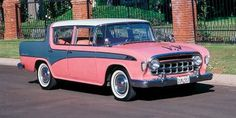 1956 Rambler - my grandpa drove a Rambler. His was a 1963 with the concave grill.