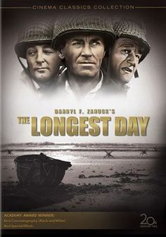 The Longest Day ... maybe the best war movie