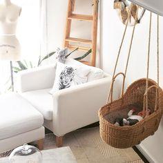 swinging hanging cradle DIY
