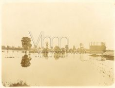 Flooding on Leyton Marshes, 1903 Britain, Museum, River, London, Museums, London England, Rivers