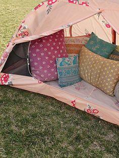 The @Alite Designs,  x @Free People Tent: perfect for #festival season! #coachella #musicfestival #prints #floral #camping