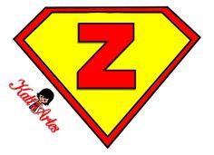 EUGENIA - KATIA ARTES - BLOG DE LETRAS PERSONALIZADAS E ALGUMAS COISINHAS: Alfabeto Super Homem