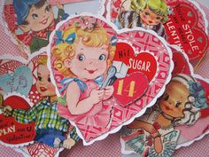 Creative Breathing vintage valentine