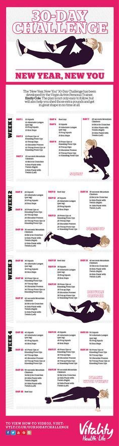 30-DAY CHALLENGE: NEW YEAR, NEW YOU