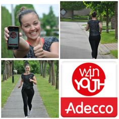 Download the Win4Youth-app and track your distance! Fill in your results on their website and contribute to a youth charity!