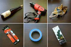 wine bottle light supplies