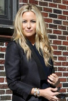Kate Hudson...love the hair & makeup