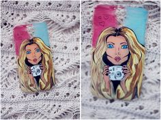 Samsung Galaxy S4 girl )  #case #samsung #mini #bird #girl #draw #handmade #art #artlife #painting