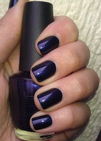 Polish or Perish: A pale girl's must-have - OPI Russian Navy