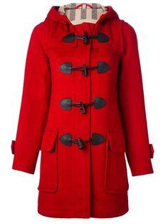 Burberry Brit duffle coat at farfetch.com.