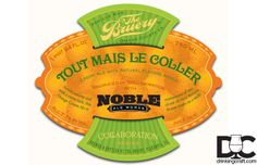 The Bruery & Noble Ale Works Tout Mais Le Coller Collaboration - Drinking Craft - Drinking Craft #craftbeer #thebruery #noblealeworks #beer
