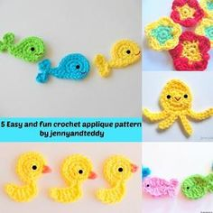 jennyandteddy's Pattern Store on Craftsy   Support Inspiration. Buy Indie.