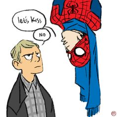 SpiderSherlock and JH Watson- as requested