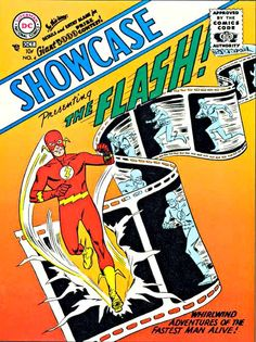 "Showcase Comics #4 was published in 1956 and featured The Flash, The Fastest Man Alive. It was drawn by Carmine Infantino who revived superhero comic books with his re-invention of the ""Scarlet Speedster."" Mr. Infantino, who also created Black Canary and Batgirl, died on April 4, 2013 at the age of 87."