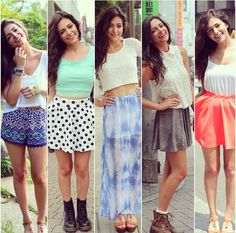 Bethany mota outfits love the second one