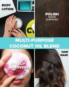 Yes, coconut oil is for everything.