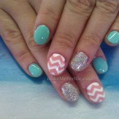 By tina. Chevron nails chevron nail design with gel manicure gel nails. Mani natural nails nail art designs | Yelp
