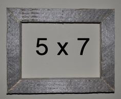 5 x 7 Driftwood Picture Frame 307 by DriftwoodMemories on Etsy