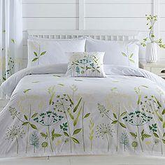 Hedgerow Border Duvet Cover & Standard Pillowcase Set #kaleidoscope #bedding