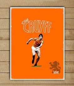 Johan Cruyff Dutch International Football player and innovator of titular stepover turn called the Cruyff played for Ajax and Barcelona Soccer
