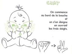 Baby sign language is now being taught to non hearing impaired children as early as Six months for a variety of reasons. Baby Sign Language Chart, Simple Sign Language, Sign Language Phrases, Sign Language Interpreter, Learn Sign Language, Early Reading, American Sign Language, Effective Communication, Funny Art