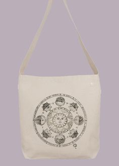 Ancient Star Sign Astrology Horoscope Chart  Hobo by Whimsybags