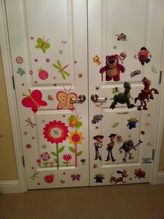 playroom stickers    -yes i know i went WAY over board.. that would be why we are re doing the rooms =] haha-