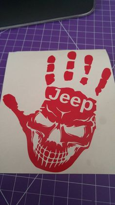 Check out this item in my Etsy shop https://www.etsy.com/ca/listing/455883256/jeep-skull-hand-wave-decal