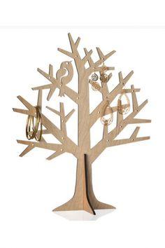 support bijoux arbre pommier en bois a peindre ou d corer bijoux. Black Bedroom Furniture Sets. Home Design Ideas