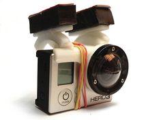 GoPro Hero3 kit for DJI Phantom quad by bophoto on Shapeways