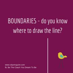 Where do you draw the line with your clients - blog post about boundaries - www.rubymcguire.com life coach, social work, counsel idea, art therapi