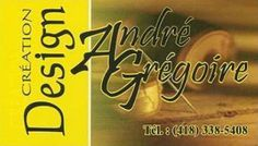 André Grégoire - Designer Thetford Mines