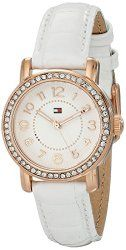 Tommy Hilfiger Women's 1781475 Analog Display Quartz White Watch